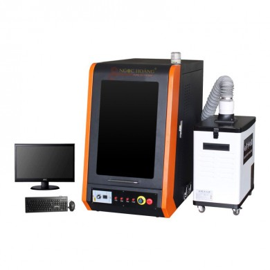 Máy khắc và cắt laser 30W mới